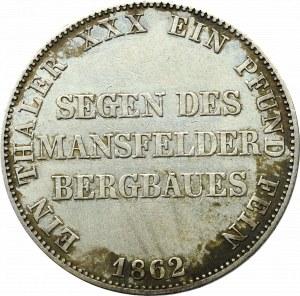 Germany, Prussen , Taler 1862