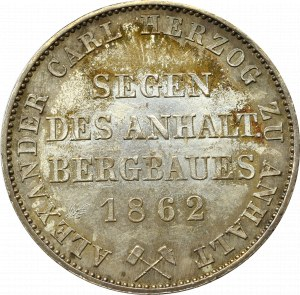 Niemcy, Anhalt, Talar 1862 A, Berlin