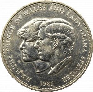 Anglia, 25 nowych pensów 1981 - Wesele
