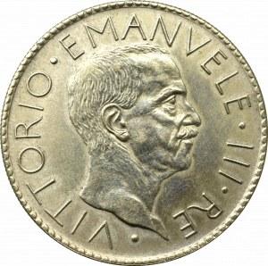 Italy, 20 lira 1928