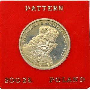 PRL, 200 złotych 1986 Władysław I Łokietek - Próba