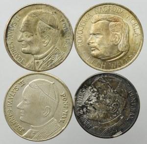 PRL, Zestaw medali Wałęsa i Jan Paweł II