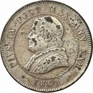 Watykan, 4 soldi 1868