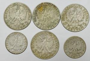 II Republic of Poland, Lot of 2-5 zloty