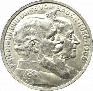 Niemcy, Badenia, 5 marek 1906
