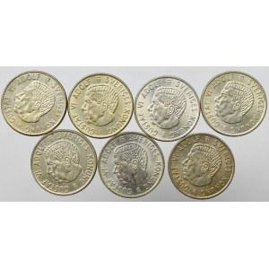 Szwecja, Zestaw 2 korony 1952-1966 (7 egz)