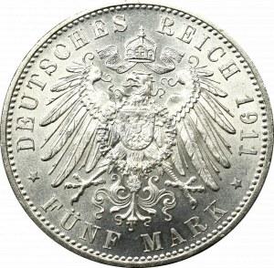 Niemcy, Bawaria, 5 marek 1911 - 90 urodziny księcia-regenta