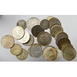 Austria, Zestaw monet srebrnych (33 egz)