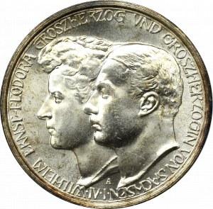 Germany, Sachsen, Wilhelm Ernest, 3 mark 1910