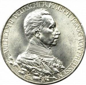 Germany, Preussen, 3 mark 1913 - 25 years of Wilhelm II reign
