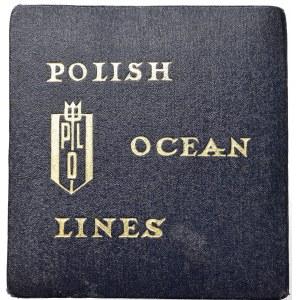 PRL, Medal 40 lat żeglugi polskiej 1970