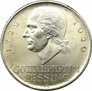 Germany, Weimar Republic, 5 mark 1929 D Lessing