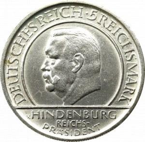 Germany, Weimar Republic, 5 mark 1929 D, Munich