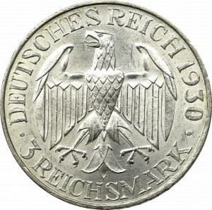 Germany, Weimar Republic, 3 mark A, Berlin, Graf Zeppelin