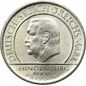 Niemcy, Republika Weimarska, 3 marki 1929 A, Berlin