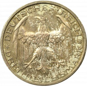 Germany, Weimar Republic, 3 mark 1927 A, Berlin