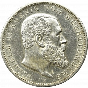 Germany, Wuertemberg, 3 mark 1914
