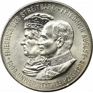 Niemcy, 2 marki 1909 - 500-lecie Uniwersytetu w Lipsku