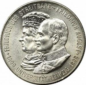 Germany, 2 mark 1909 500 years of Leipzig University