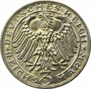 Germany, Weimar Republic, 3 mark 1929 Dürer