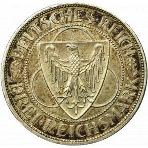 Germany, Weimar Republic, 3 marks 1930 A, Berlin - Liberation of Rhineland