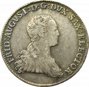 Saxony, Friedrich August III, 2/3 thaler 1767