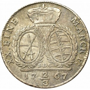 Saksonia, Fryderyk August, 2/3 talara 1767