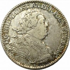Saksonia, Fryderyk Krystian, 2/3 Talara 1763 Drezno
