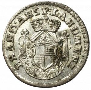 Germany, Brandenburg-Ansbach, 1 Kreuzer 1790