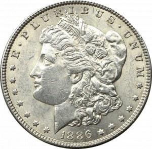 USA, Dolar 1886