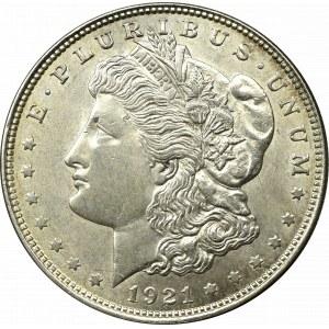 USA, 1 dolar 1921 Morgan dollar