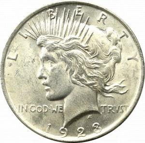 USA, Dolar 1923 - Peace Dollar