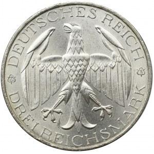 Germany, Weimar Republic, 3 mark 1929 A, Berlin