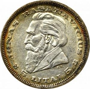 Litwa, 5 litów 1936