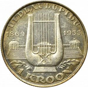 Estonia, 1 korona 1933