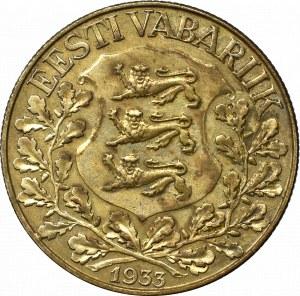 Estland, 1 krooni 1933