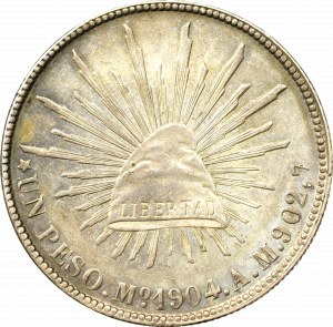 Meksyk, Peso 1904, Meksyk