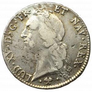 Francja, Ludwik XV, Ecu 1762