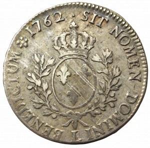 France, Ludovic XVI, Ecu 1762