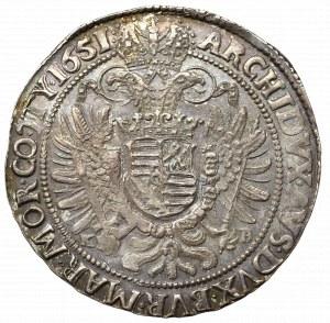 Hungary, Ferdinand III, Thaler 1641, Kremnitz