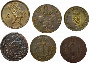 Germany, Lot of copper coins