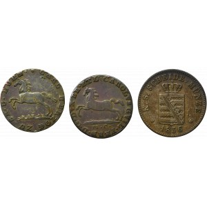 Germany, lot of coins
