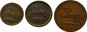 Niemcy, Brunszwik, Zestaw monet