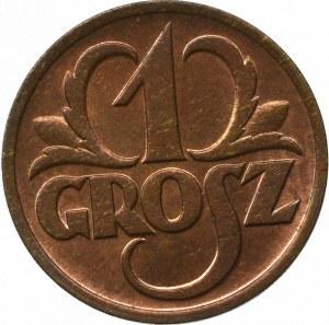 II Republic of Poland, 1 groschen 1928