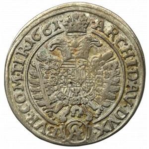 Austria, Leopold, 15 kreuzer 1661 Vienna