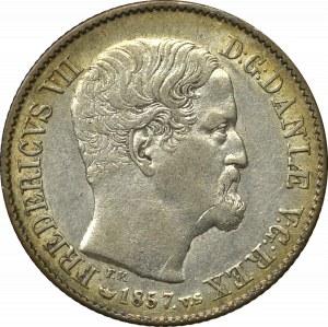 Dania, 16 skilling 1857