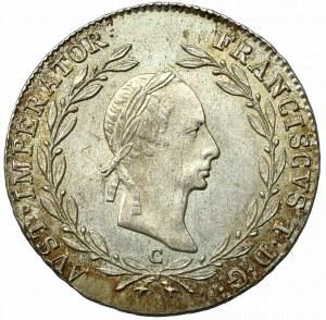 Austro-Węgry, Franciszek I, 20 krajcarów 1830
