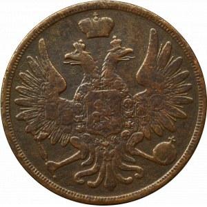 Rosja, Mikołaj I, 3 kopiejki 1853 BM