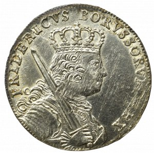 Germany, Prussia, Friedrich II, 18 groschen 1758 B