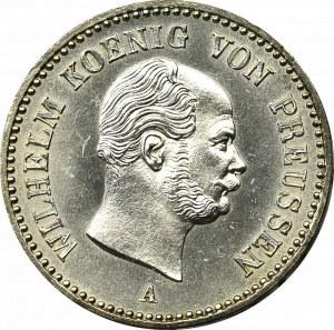 Niemcy, Prusy, 1/6 talara 1861 A